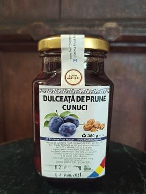 DULCEATA DE PRUNE CU NUCI